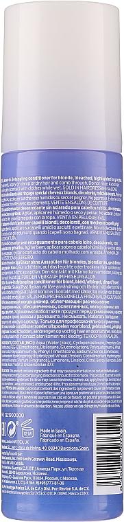 Balsam pentru părul blond cu keratină - Revlon Professional Equave 2 Phase Blonde Detangling Conditioner — Imagine N2
