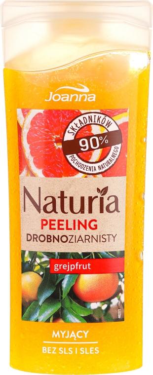 """Peeling fin pentru duș """"Grapefruit"""" - Joanna Naturia Peeling"""