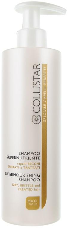 Șampon pentru păr uscat - Collistar Supernourishing Shampoo — Imagine N2