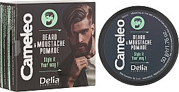 Parfumuri și produse cosmetice Ceară pentru barbă - Delia Cameleo Men Beard and Moustache Pomade