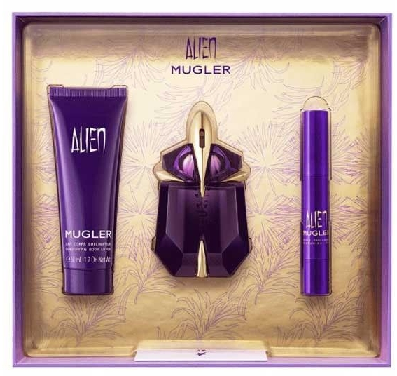 Mugler Alien - Set (edp/30ml+edp/10ml+b/lot/50ml) — Imagine N2
