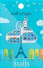 Parfumuri și produse cosmetice Stickere de unghii - Snails Nail Wraps (10 buc.)