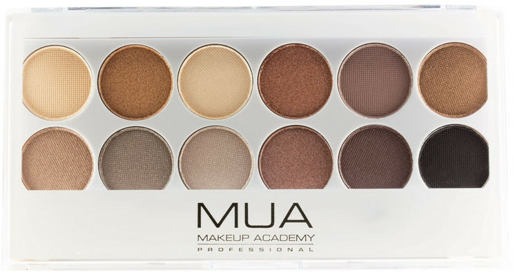 Paleta fard de ochi - MUA Undress Me Too Eyeshadow Palette