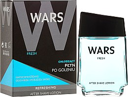 Parfumuri și produse cosmetice Soluție după ras - Wars Fresh