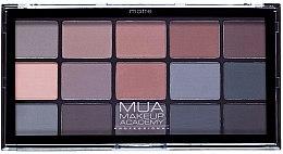 Parfumuri și produse cosmetice Paletă fard de ochi - MUA 15 Shade Palette