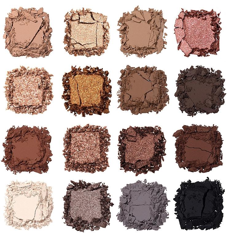 Nabla Side By Side Nude Palette - Paletă farduri de