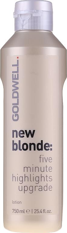 Loțiune pentru păr, cu efect de iluminare - Goldwell New Blonde Lotion — Imagine N1