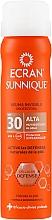 Parfumuri și produse cosmetice Spray de protecție pentru corp, invizibil - Ecran Sunnique Spray Protection SPF30