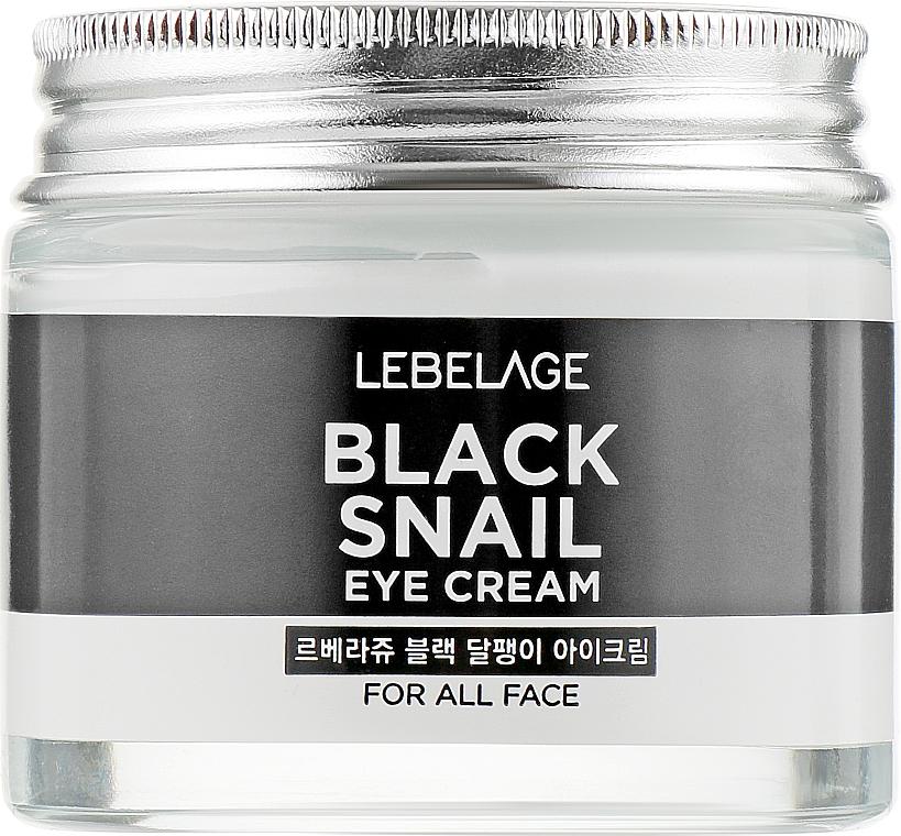 Cremă revitalizantă cu extract de mucină de melc pentru zona din jurul ochilor - Lebelage Black Snail Eye Cream