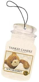 Aromatizator - Yankee Candle Soft Blanket Car Jar Ultimate