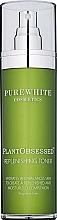 Parfumuri și produse cosmetice Toner facial revitalizant - Pure White Cosmetics Plant Obsessed Replenishing Toner