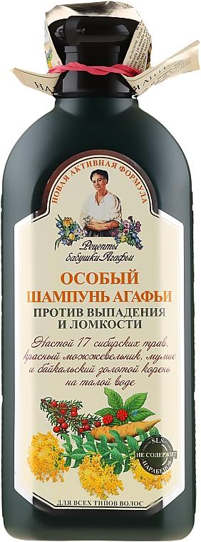 Șampon Agafia împotriva căderii părului - Reţete bunicii Agafia