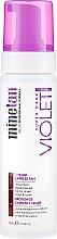 Parfumuri și produse cosmetice Spumă de corp pentru bronz - MineTan 1 Hour Tan Violet Self Tan Foam