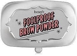 Parfumuri și produse cosmetice Pudră pentru sprâncene - Benefit Foolproof Brow Powder