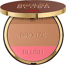 Parfumuri și produse cosmetice Pudră 3 în 1 pentru față - Pupa Sculpt Bronze Blush