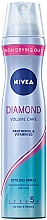 "Parfumuri și produse cosmetice Hairspray ""Volum și strălucire"" fixare puternică - Nivea Diamond Volume Care 5"