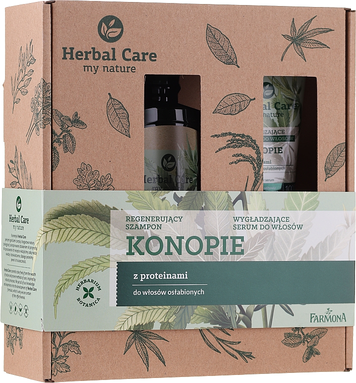 Set - Farmona Herbal Care (h/shm/330ml + h/ser/100ml) — Imagine N1