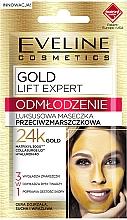 Parfumuri și produse cosmetice Mască anti-îmbătrânire cu aur de 24k - Eveline Cosmetics Gold Lift Expert Rejuvenation Mask