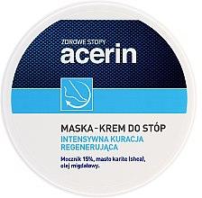Parfumuri și produse cosmetice Mască-cremă pentru picioare - Acerin Mask
