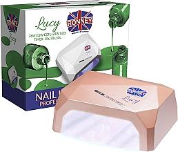 Parfumuri și produse cosmetice Lampă CCFL+LED, cafea - Ronney Professional Lucy CCFL + LED 36W (GY-LCL-021) Lamp