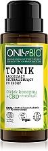 Parfumuri și produse cosmetice Toner calmant care neutralizează pH-ul pielii - Only Bio