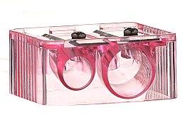 Parfumuri și produse cosmetice Ascuțitoare pentru creioane, 4109, roz - Donegal Sharpener Pencil