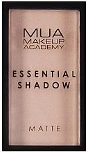 Parfumuri și produse cosmetice Fard de ochi - MUA Essential Shadow Matte
