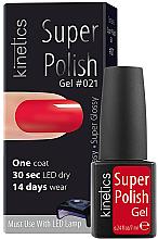 Parfumuri și produse cosmetice Gel-lac de unghii - Kinetics Super Polish