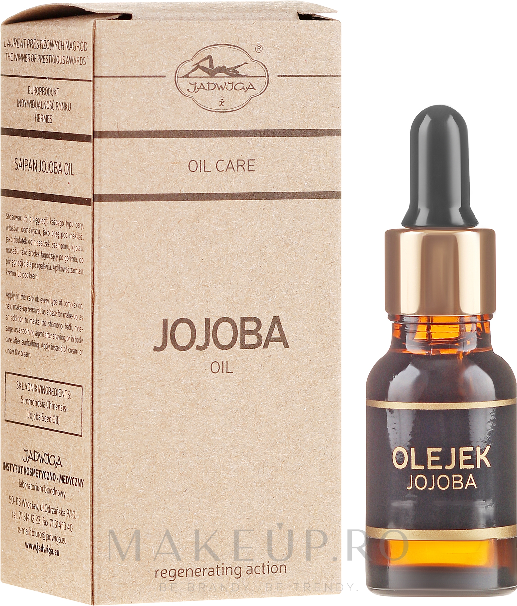 Ulei de jojoba - Jadwiga Jojoba Oil — Imagine 18 ml