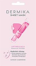 Parfumuri și produse cosmetice Mască-lifting pentru față - Dermika Sheet Mask