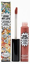 Luciu de buze - TheBalm Read My Lips Lip Gloss — Imagine N3