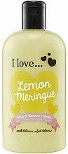 Parfumuri și produse cosmetice Cremă pentru baie și duș - I Love... Lemon Meringue Bath And Shower Cream
