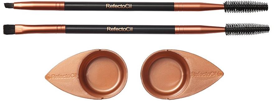 Set accesorii pentru gene și sprâncene - RefectoCil Cosmetic Brush Browista Toolkit — Imagine N1