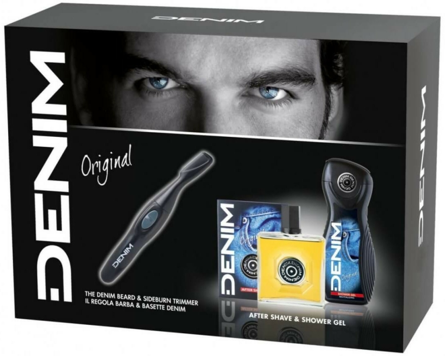 Set - Denim Original (sh/gel/250ml + ash/lot/100ml + trimmer) — Imagine N1