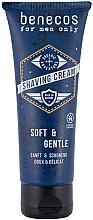 Parfumuri și produse cosmetice Cremă de ras - Benecos For Men Only Shaving Cream