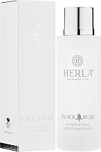 Parfumuri și produse cosmetice Toner pentru față - Herla Black Rose Nutritive Face Smoothing Toner