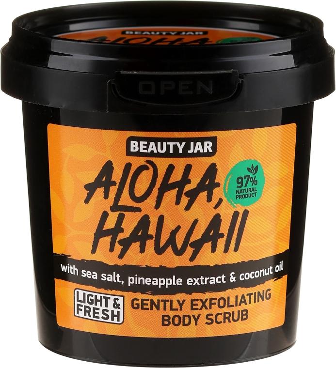Scrub de corp - Beauty Jar Aloha Hawaii Gently Exfoliating Body Scrub