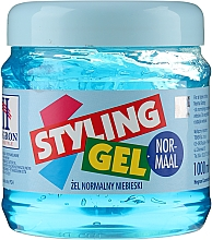 Parfumuri și produse cosmetice Gel pentru styling, cu fixare medie - Hegron Styling Gel Normaal