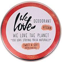 Parfumuri și produse cosmetice Deodorant cremă - We Love The Planet Deodorant Sweet & Soft