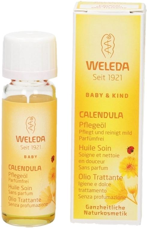 Ulei de corp, pentru copii - Weleda Calendula Nourishing Oil (mini) — Imagine N1