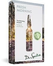 """Parfumuri și produse cosmetice Fiole concentrat """"Dimineața proaspătă. Trezirea"""" - Dr. Spiller Wake-up Call Fresh Morning"""