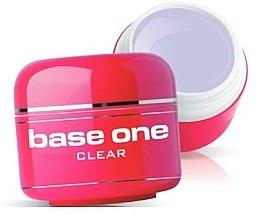 Parfumuri și produse cosmetice Gel pentru unghii, incolor - Silcare Base One Clear