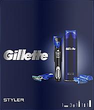 Parfumuri și produse cosmetice Set - Gillette Fusion 5 (sh/gel/200ml + razor/styler)