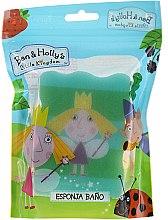 """Parfumuri și produse cosmetice Burete pentru baie """"Ben și Holly"""", Holly, verde - Suavipiel Ben & Holly Bath Sponge"""