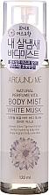"""Parfumuri și produse cosmetice Spray de corp """"Mosc alb"""" - Welcos Around Me Natural Perfume Vita Body Mist Musk"""