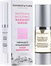 Parfumuri și produse cosmetice Ser matifiant - DermoFuture Tightening Smoothing Banquet Serum