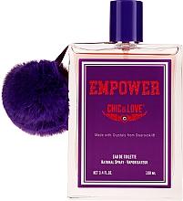 Parfumuri și produse cosmetice Chic&Love Empower - Apă de toaletă (tester cu capac)
