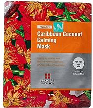 Parfumuri și produse cosmetice Mască pentru față - Leaders 7 Wonders Caribbean Coconut Calming Mask