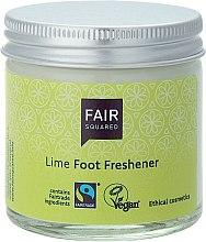 """Parfumuri și produse cosmetice Cremă pentru picioare """"Lime"""" - Fair Squared Lime Foot Freshener"""