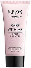 Parfumuri și produse cosmetice Primer de față - NYX Professional Makeup Bare With Me Hemp Radiant Perfecting Primer